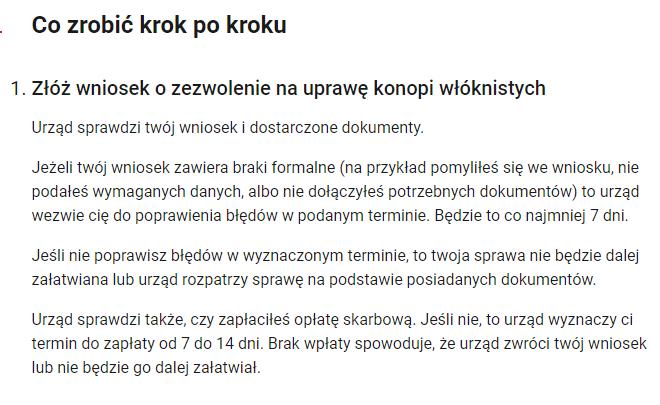 Uprawa konopi w Polsce